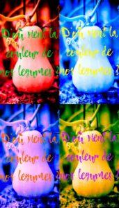 La couleur des légumes