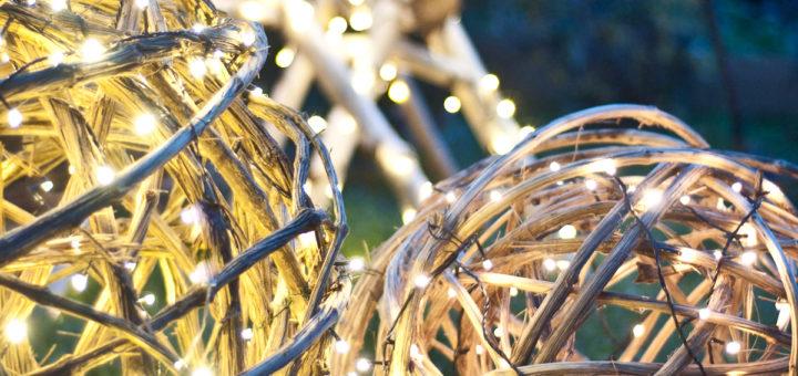 Décorations de Noël: les lianes de la forêt